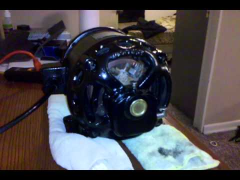 Century 1 2 hp motor all finished youtube for Antique electric motor repair