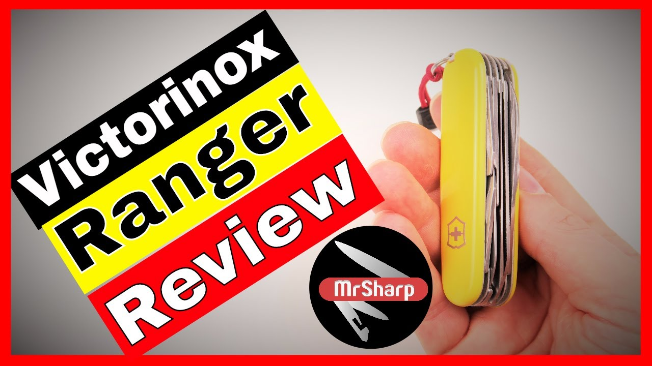 Victorinox Ranger Plus Camping Swiss Army Knife Review
