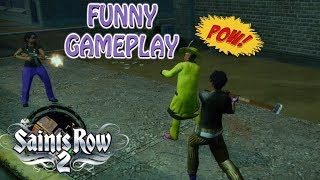 SAINTS ROW 2: TAKING BACK THE STREETS ( STRONGHOLD MISSIONS) FUNNY GAMEPLAY