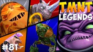 Черепашки-Ниндзя: Легенды. Прохождение #81 ALL Bosses (TMNT Legends IOS Gameplay 2016