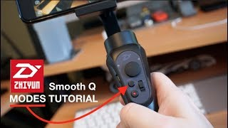 ZhiYun Smooth Q Tutorial - All Modes and Zoom Functions  - Netcruzer TECH
