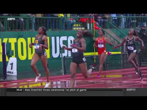 Lynna Irby 400m - 2018 NCAA Outdoor Championships