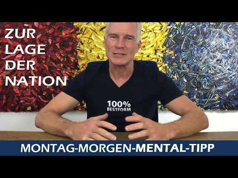 Mental Tipp zur Lage der Nation