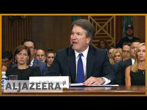 🇺🇸 Kavanaugh scandal: White House says it is not limiting FBI probe | Al Jazeera English