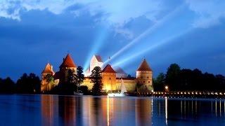 🌏 Моя Планета, путешествуем по Литве курорт Друскининкай , ТРАКАЙ