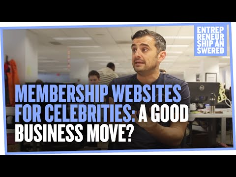 Membership Websites for Celebrities: A Good Business Move?