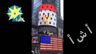 بالفيديو : برج في نيويورك يعرض حملة دعائيه لمصر