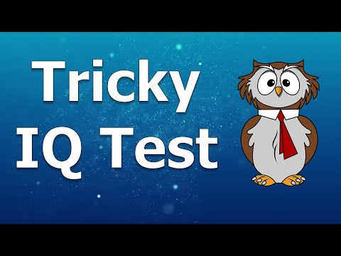 IQ Test   10 Most Popular Tricky Questions