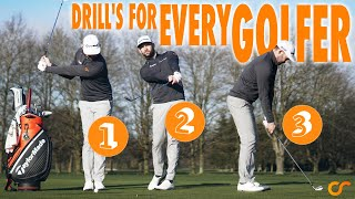 3 DRILLS THAT CAN HELP EVERY GOLFER