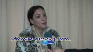 loubna labidar الممثلة لبنى أبيدار : الناصيري بغا ينعس معايا