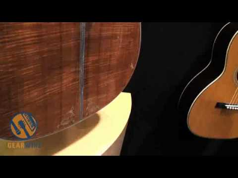 Martin D-50 Koa Deluxe Boasts Magnificent Pearl And Wood Work