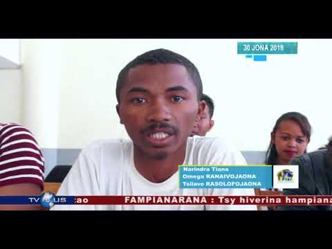VAOVAO DU 30 JUIN 2018 BY TV PLUS MADAGASCAR