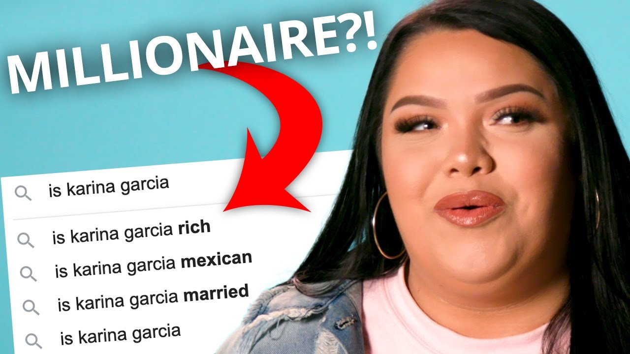 Karina Garcia Answers the Web's Most Searched Questions About Herself