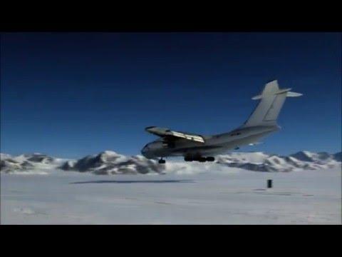 Antarctica IL76 Movie