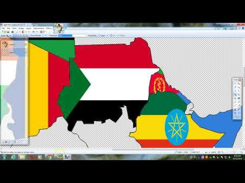 Creating a flag map of africa