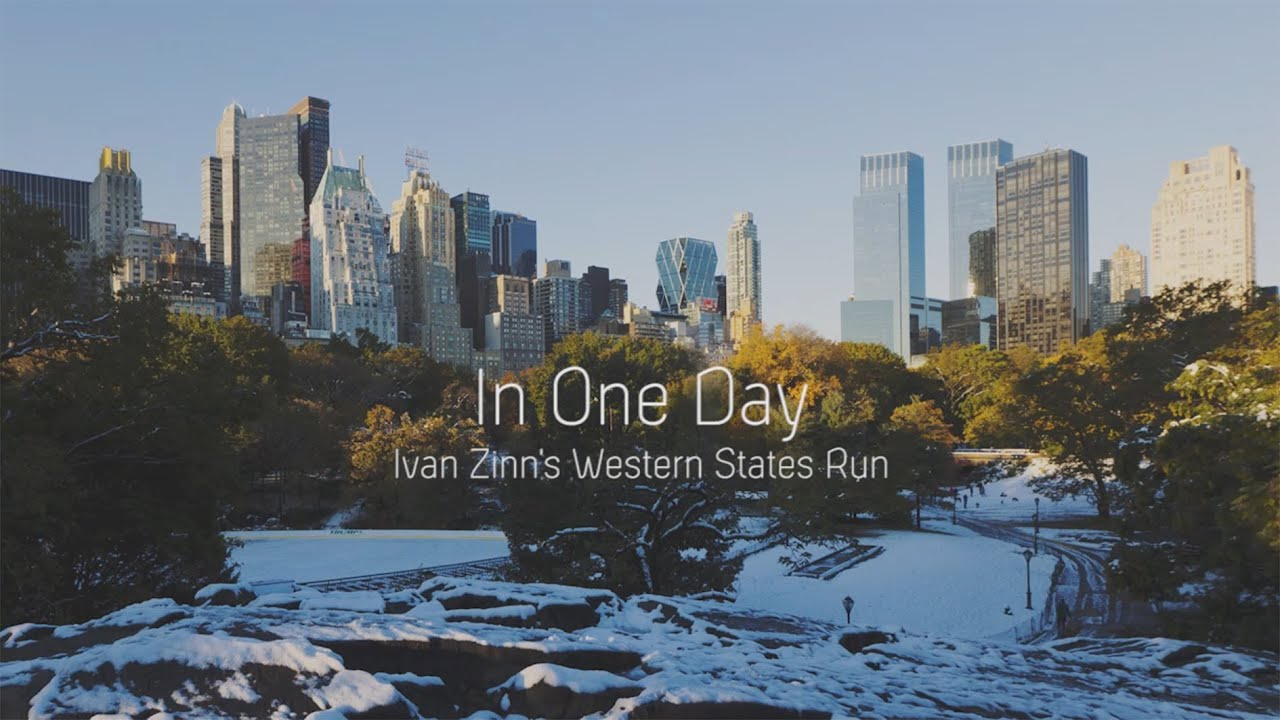 In One Day: Ivan Zinn's Western States Run