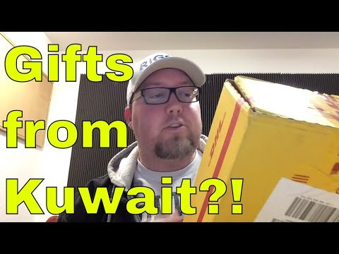 Mystery Retro Gaming Package -- FROM KUWAIT?!