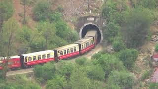 Kalka Shimla Toy Train - Passing through the Concrete Jungle of Solan