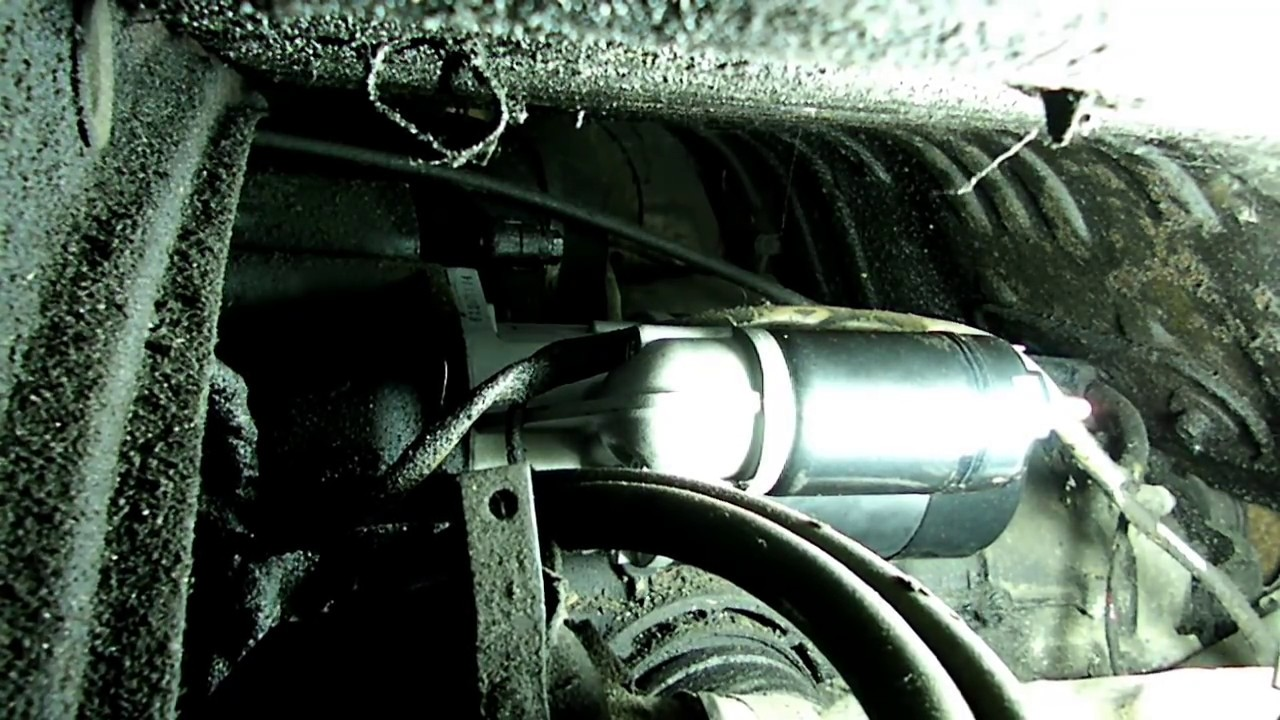 volkswagen beetle starter replacement [ 1280 x 720 Pixel ]
