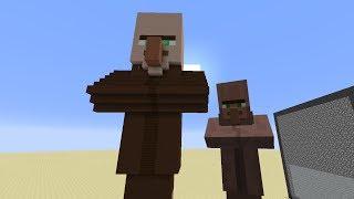 Minecraft Mega Blocks -- Ep 7: Villager, Slime Block and Cauldron