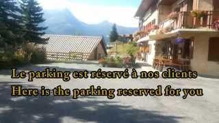 Video acces hotel les gardettes, Orcières Merlette
