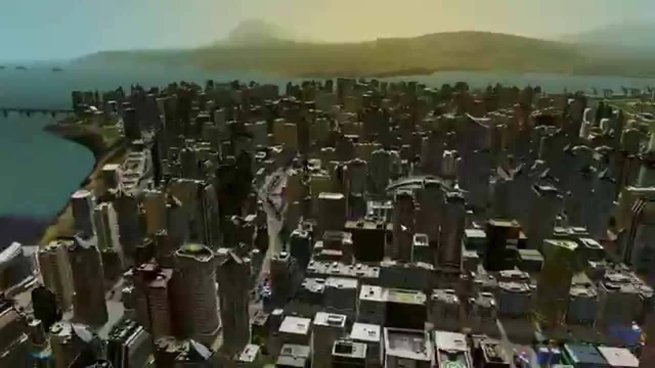 Cities Skylines Epidemy Over 170000 Habitants Infected Imagine A Zombie Apocalypse YouTube
