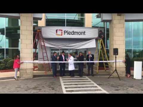 Piedmont Rockdale Hospital Ribbon-Cutting