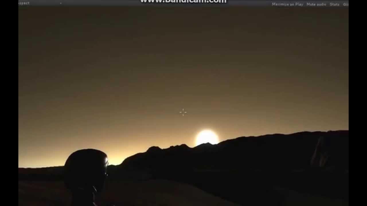 Sunrise On Mars YouTube - Sunrise looks like mars
