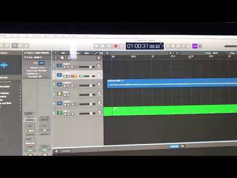 How to fix Input monitor with no sound in Logic Pro x