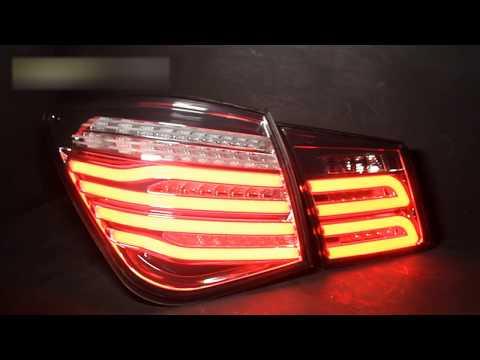 Задние тюнинг фонари Chevrolet Cruze `09-