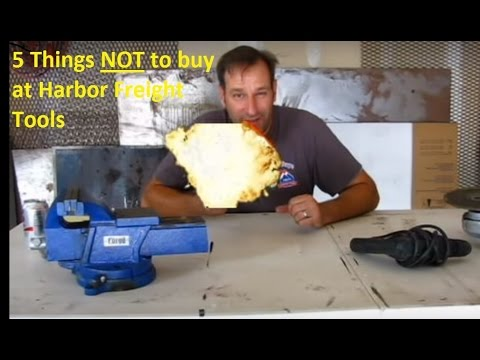 5 Items NOT to Buy from Harbor Freight Tools from YouTube · Duration:  4 minutes 23 seconds