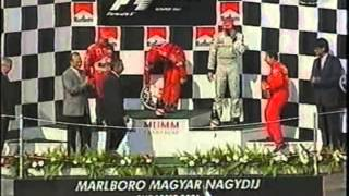 Michael Schumacher 2001 Hungary podium