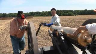Canister Shot From Civil War Cannon.wmv