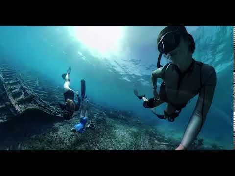 GOPRO FUSION UNDERWATER TEST WITH OVERCAPTURE