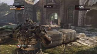 gears of war 3 gameplay beast mode e3 2010