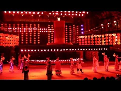 China Folk Culture Village Night Show - HD - Mar 2014