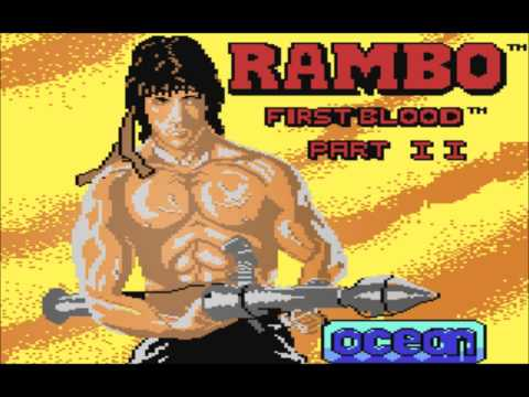 Rambo First Blood Part II (C64) Music- Loader