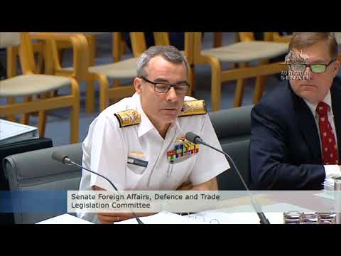 Rear Admiral Schools Senator in Submarine Capabilities