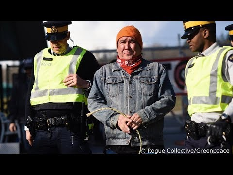 Aggressive Police Tactics Escalate Against TransMountain Pipeline Protests in Canada