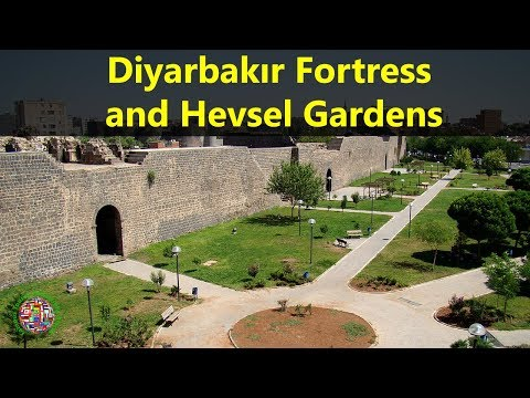 Best Tourist Attractions Places To Travel In Turkey | Diyarbakır Fortress and Hevsel Gardens Spot