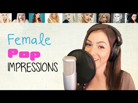 Pop Impressions 1 - Katy Perry, Lady Gaga, Shakira, Ariana Grande & more