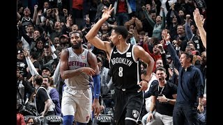 Spencer Dinwiddie Is CLUTCH, Hits A Three To Send Game To OT And One To Win The Game