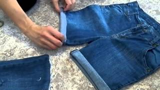 Как из старых джинс сделать шорты(Как из старых джинс сделать шорты 2 -http://youtu.be/l9qHN6rOvYU Приятного просмотра! Я Вконтакте: https://vk.com/idsiberia48 Instagram:..., 2013-08-04T13:22:17.000Z)