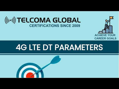 4G LTE Drive Test (DT) parameters course by TELCOMA Training