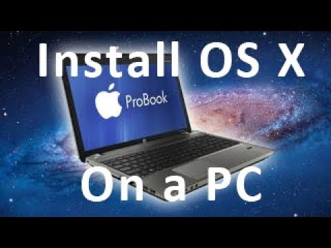 How To | Install OS X on PC without a Mac [Hackintosh] - Part 1