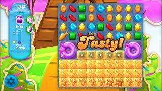 Candy Crush Soda Saga Level 494 - No boosters