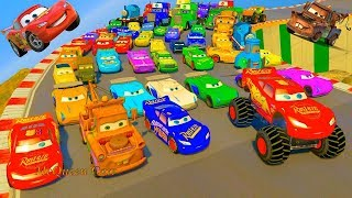Disney Pixar Cars 3 Lightning McQueen Monster Truc...