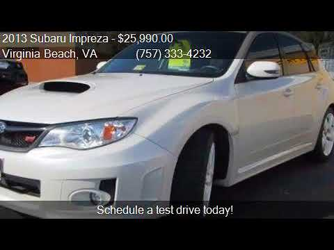 2013 Subaru Impreza Wrx Sti Awd 4dr Wagon For Sale In Virgin Youtube