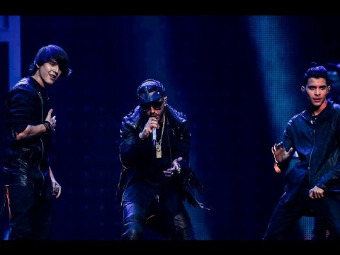 CNCO Ft Yadel - Hey Dj (Premios Billboard 2017)