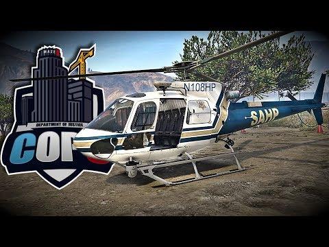DOJ #18 [AIR ONE]   MAYDAY MAYDAY   GTA 5 Roleplay